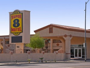 Super 8 Motel - my home from home in Phoenix