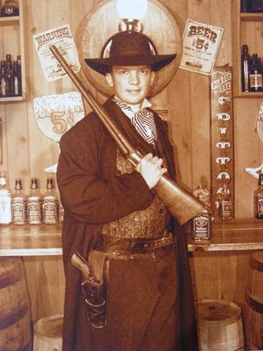 Wyatt Wilson: Marcus in cowboy gear